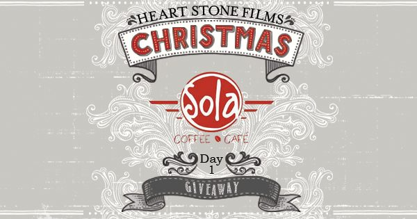 HEART STONE FILMS 2013 CHRISTMAS GIVEAWAY | DAY 1