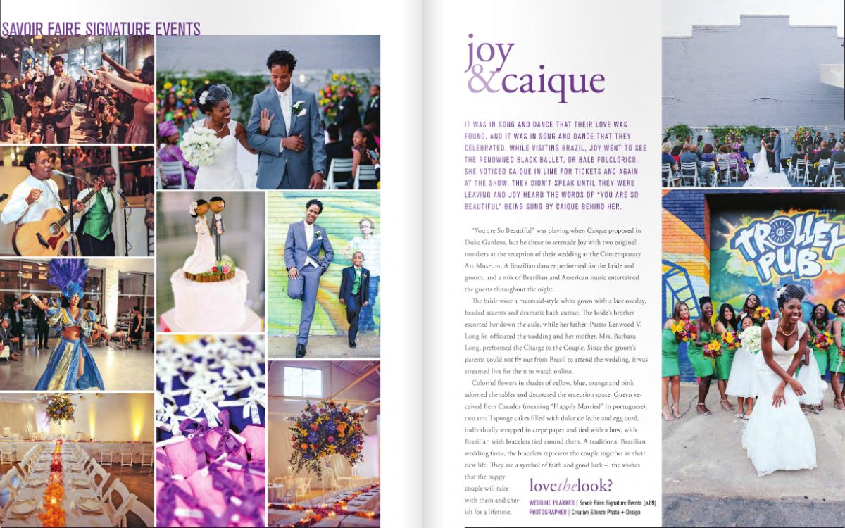 Contemporary Art Museum WEDDING, Raleigh NC | Joy + Caique
