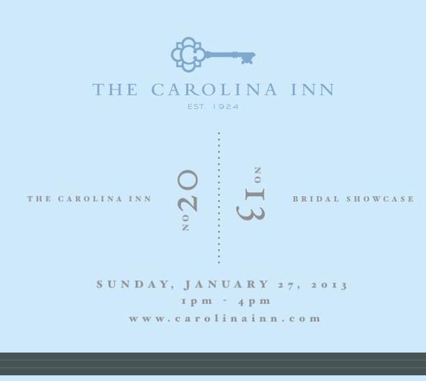 The 2014 Bridal Showcase at The Historic The Carolina Inn
