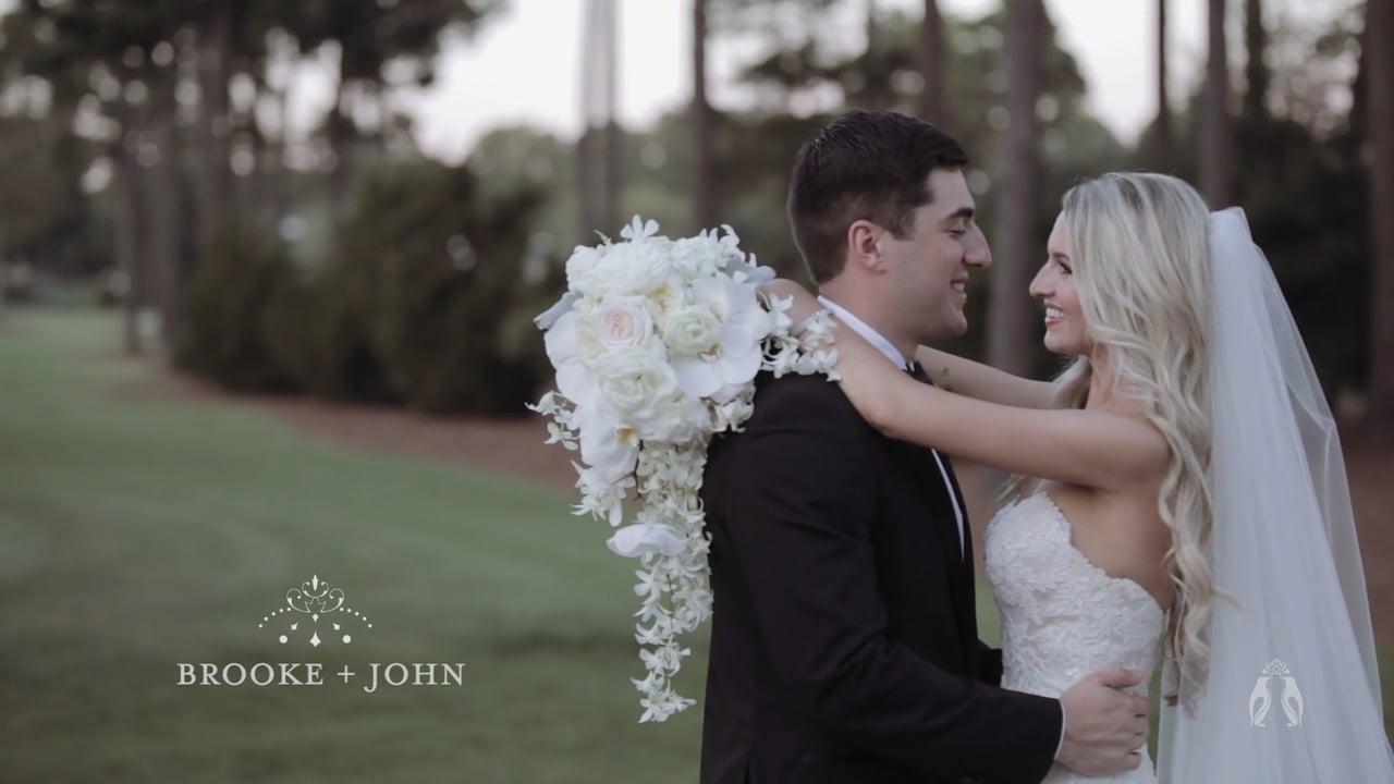 North Carolina Wedding Film by Heart Stone Films | Brooke + John