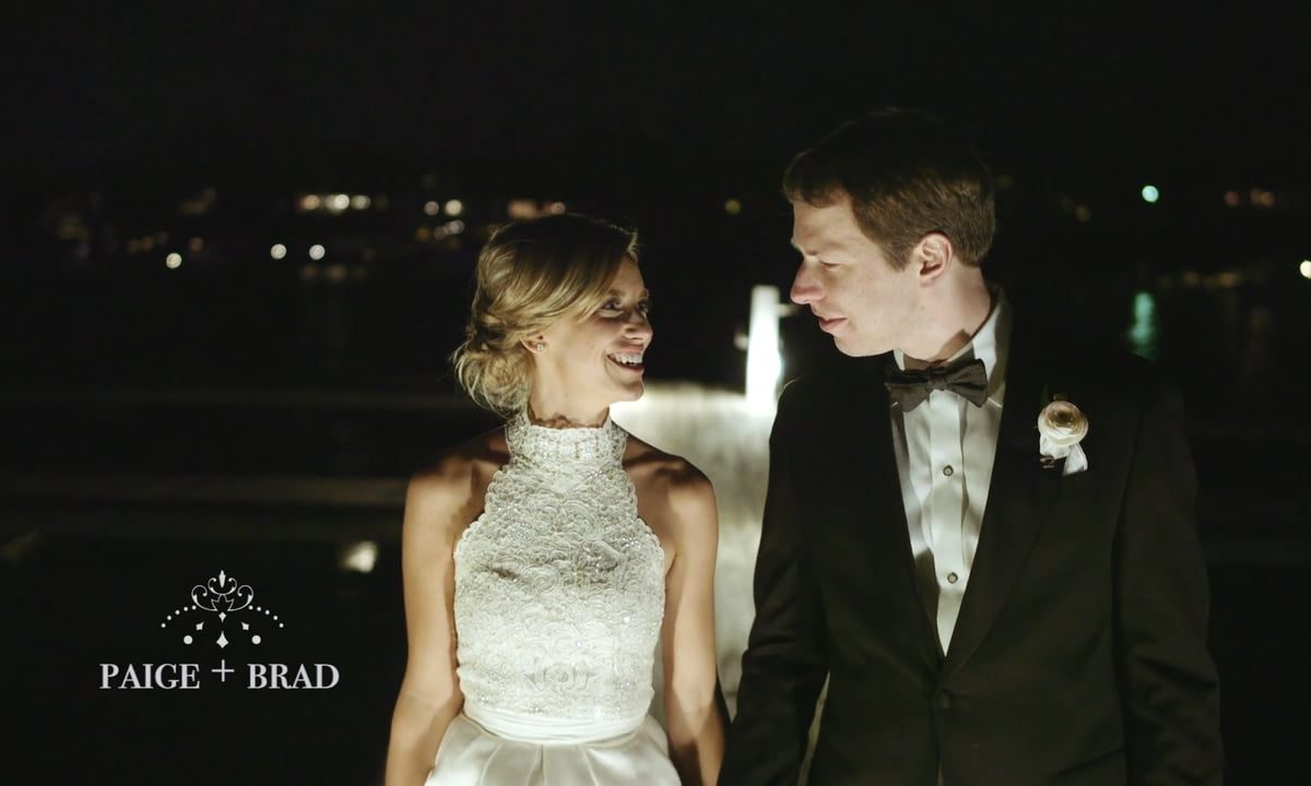 Brad Keselowski and Paige White's Romantic Wedding Video