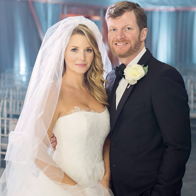 Dale Earnhardt Jr + Amy Reimann