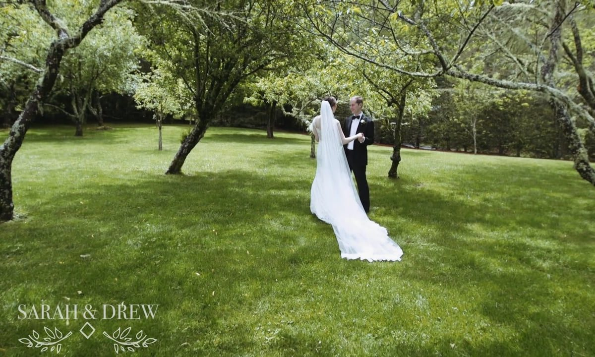 Whimsical Mountain Wedding by Heart Stone Films | Sarah & Drew
