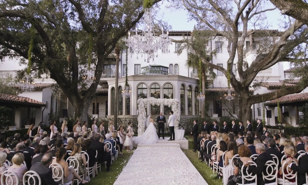 A Romantic Wedding at The Cloister Sea Island