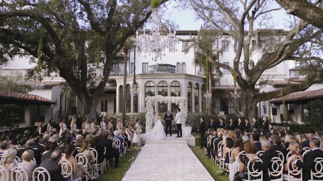 A Romantic Wedding at The Cloister Sea Island