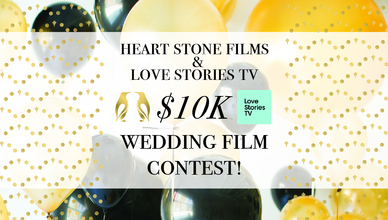 [Contest Closed] Enter to win a wedding video by heart stone films - $10,000 value