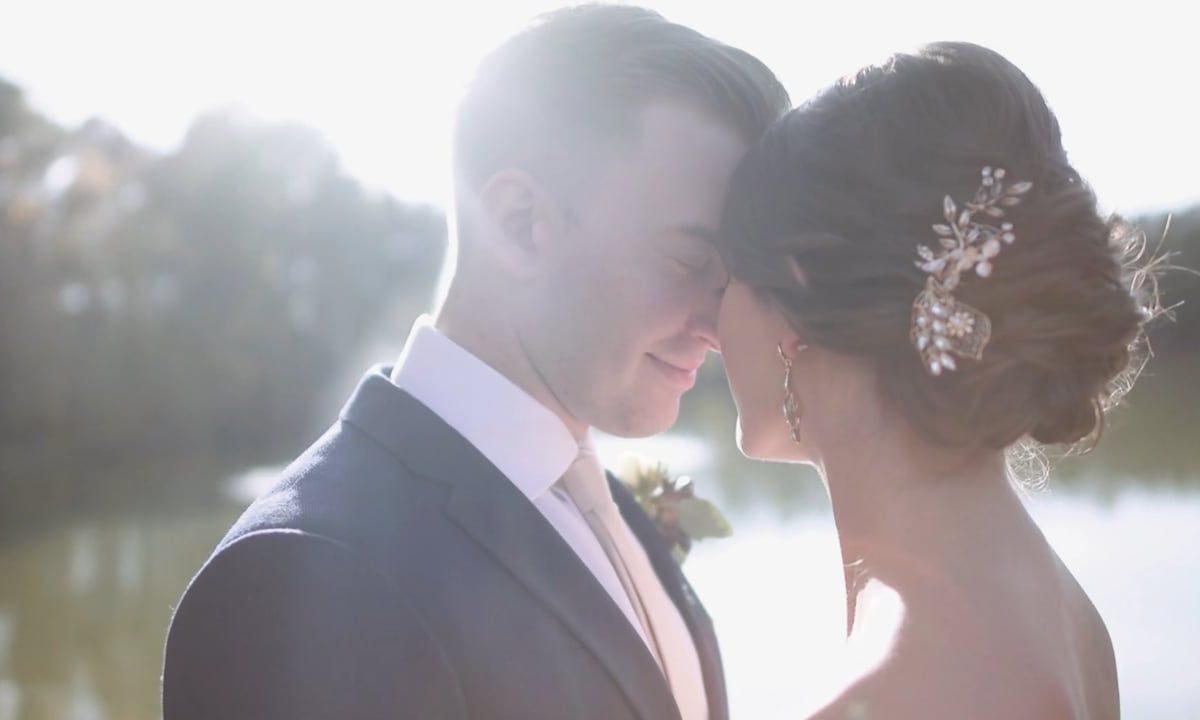 Angus Barn Wedding by Heart Stone Films   Micaiah and Cortland