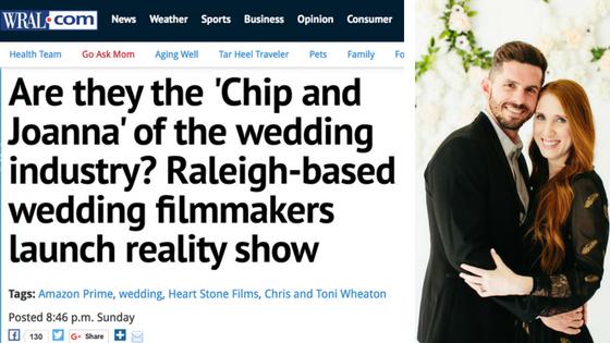 Are they the 'Chip and Joanna' of the wedding industry?